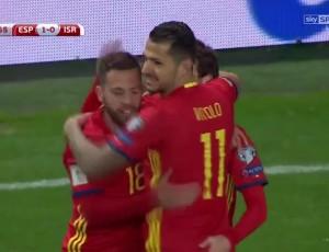 Qualificação Mundial Europa: Espanha 4 - 1 Israel (2018)