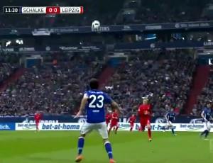 Bundesliga: Schalke 04 1 - 1 RB Leipzig (2016-2017)
