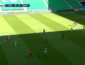 Ligue 1: Saint-Étienne 1 - 1 Rennes (2016-2017)