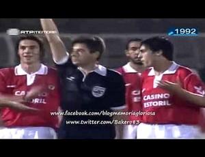 Primeira Divisão: Benfica 4 - 0 Estoril (1992-1993)