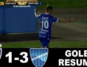 Copa Libertadores: Sport Boys Warnes 1 - 3 Godoy Cruz (2017)