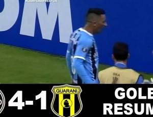 Copa Libertadores: Grêmio 4 - 1 Club Guarani (2017)