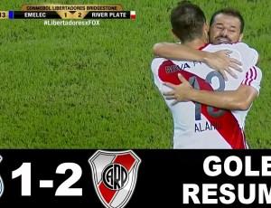 Copa Libertadores: Emelec 1 - 2 River Plate (2017)