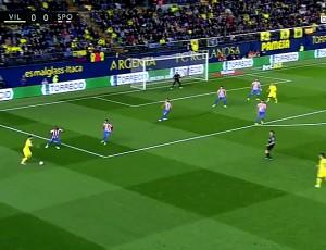 La Liga: Villarreal 3 - 1 Sporting Gijón (2016-2017)