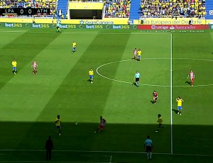 La Liga: Las Palmas 0 - 5 Atlético Madrid (2016-2017)