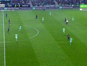 Ligue 1: Saint-Étienne 0 - 5 PSG (2016-2017)