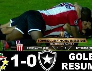 Copa Libertadores: Estudiantes 1 - 0 Botafogo (2017)