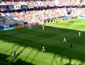 Europeu Sub-21: Eslováquia 1 - 2 Inglaterra (2017)
