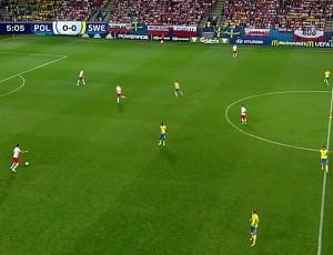 Europeu Sub-21: Polónia 2 - 2 Suécia (2017)