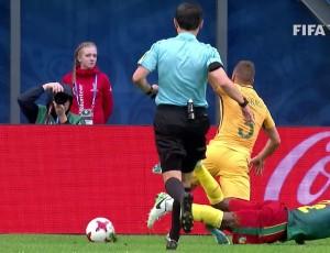 Taça Confederações: Camarões 1 - 1 Austrália (2017)