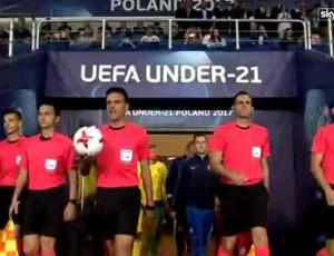 Europeu Sub-21: Eslováquia 3 - 0 Suécia (2017)