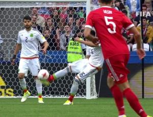 Taça Confederações: México 2 - 1 Rússia (2017)