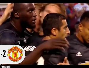 Amigáveis de clubes: Salt Lake 1 - 2 Man Utd (2017-2018)