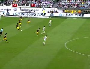 Bundesliga: VfL Wolfsburg 0 - 3 Dortmund (2017-2018)