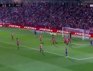 La Liga: Girona 0 - 3 Barcelona (2017-2018)