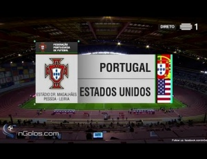 Amigáveis de seleções: Portugal 1 - 1 Estados Unidos (2017)