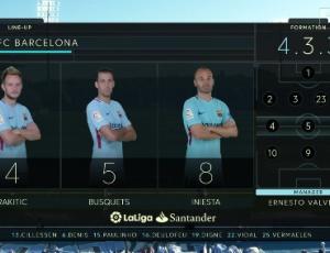 La Liga: Leganés 0 - 3 Barcelona (2017-2018)