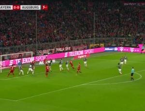 Bundesliga: Bayern München 3 - 0 FC Augsburg (2017-2018)