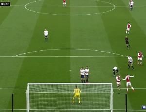 Premier League: Arsenal 2 - 0 Tottenham (2017-2018)
