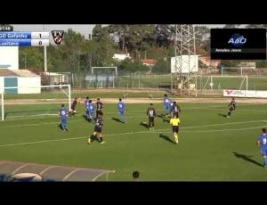Campeonato de Portugal : Gafanha 1 - 2 Lusitano FCV (2017-2018)
