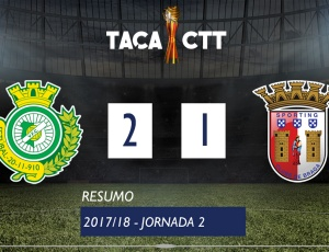 Taça CTT: V. Setúbal 2 - 1 Sp. Braga (2017-2018)