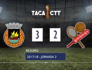 Taça CTT: Rio Ave 3 - 2 Leixões (2017-2018)
