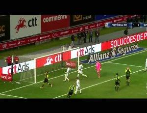Taça CTT: V. Setúbal 4 - 5 g.p Sporting (2017-2018)