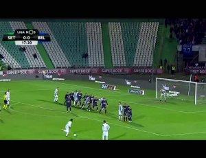 Liga NOS: V. Setúbal 3 - 0 Belenenses (2017-2018)