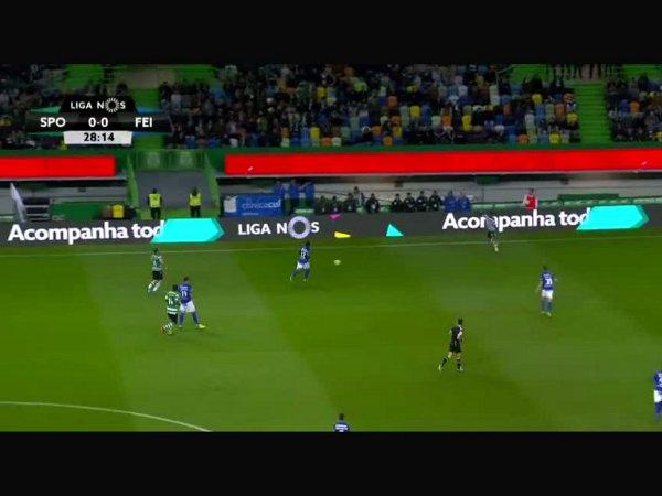 Liga NOS: Sporting 2 - 0 Feirense (2017-2018)