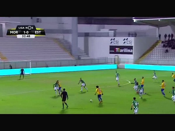 Liga NOS: Moreirense 1 - 2 Estoril (2017-2018)