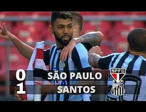 Campeonato Paulista: São Paulo 0 - 1 Santos (2018)