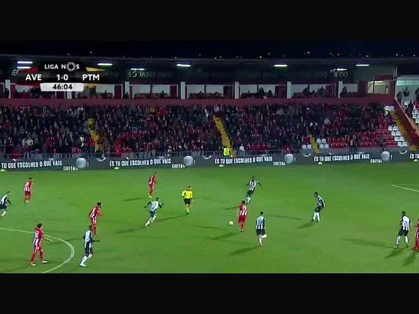 Liga NOS: Desp. Aves 3 - 0 Portimonense (2017-2018)