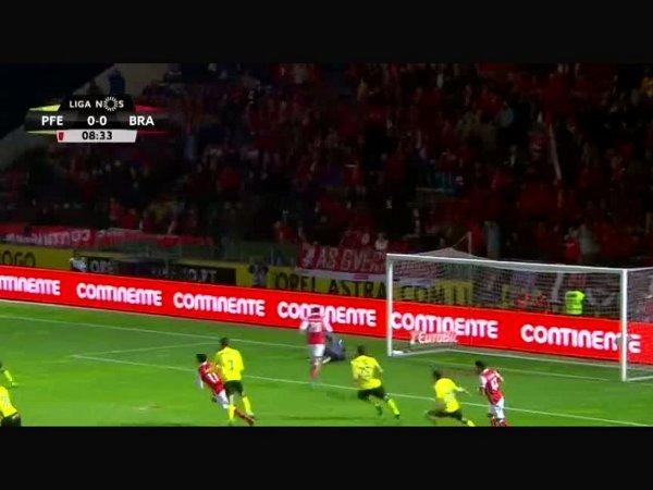 Liga NOS: Paços Ferreira 1 - 5 Sp. Braga (2017-2018)