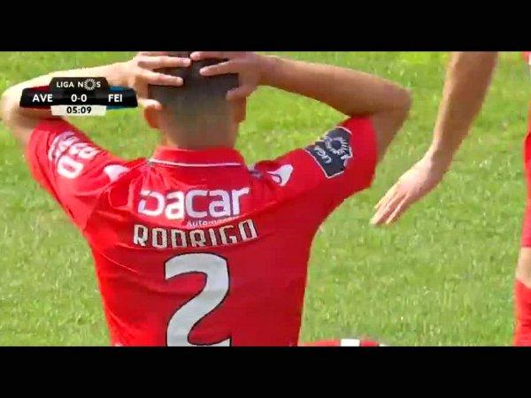 Liga NOS: Desp. Aves 1 - 0 Feirense (2017-2018)