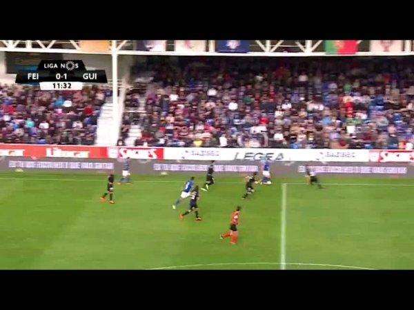 Liga NOS: Feirense 2 - 1 V. Guimarães (2017-2018)