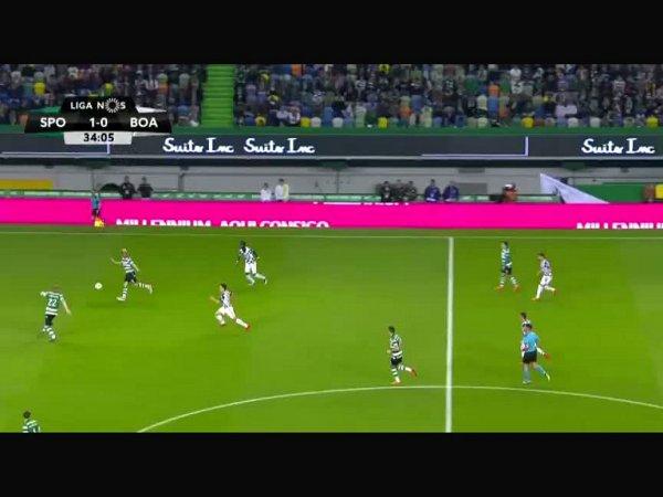 Liga NOS: Sporting 1 - 0 Boavista (2017-2018)