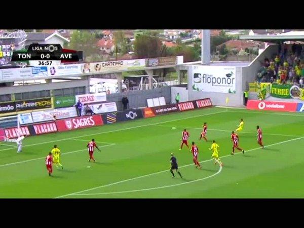 Liga NOS: Tondela 3 - 0 Desp. Aves (2017-2018)