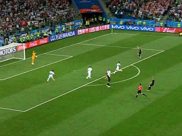 Mundial: Argentina 0 - 3 Croácia (2018)