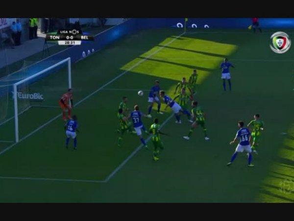 Liga NOS: Tondela 0 - 1 Belenenses (2018-2019)